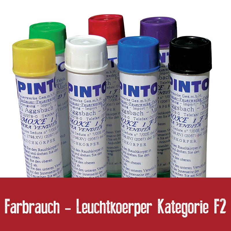 Farbrauch - Leuchtkoerper Kategorie F2