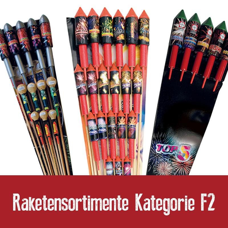 Raketensortimente Kategorie F2